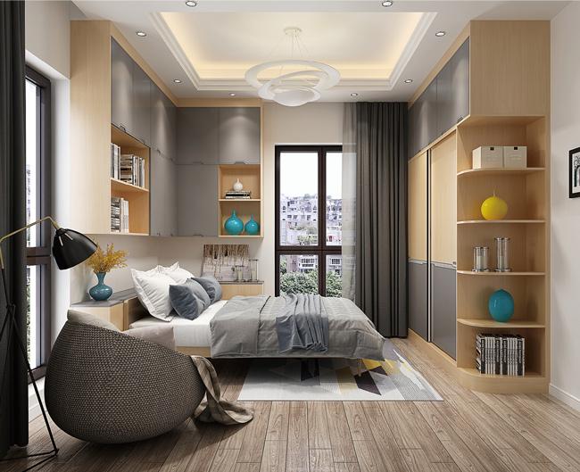 全屋定制卧室设计中的细节