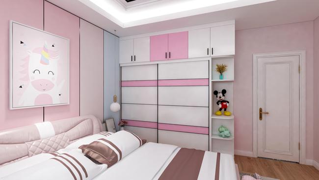 女孩房卧室设计图
