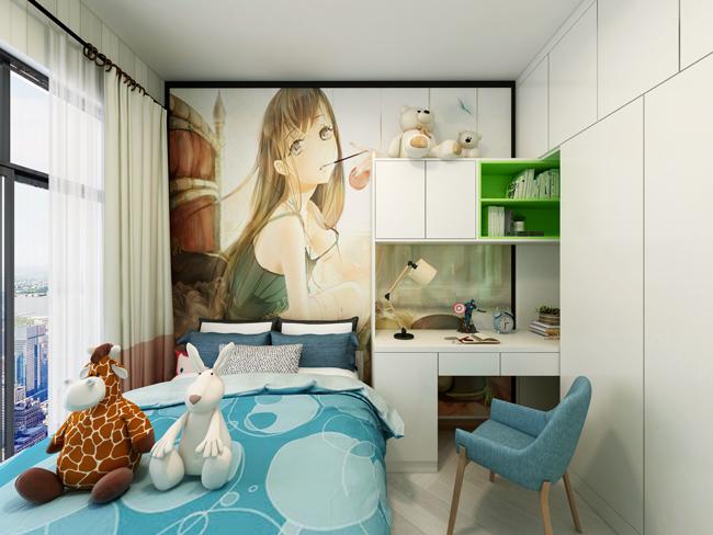 现代简约风格效果儿童房
