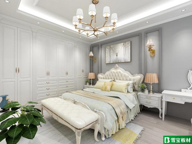 简欧风格设计图-卧室