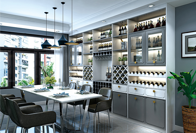 全屋定制收纳设计餐厅