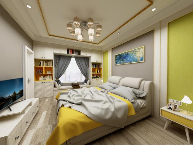 全屋定制收纳设计卧室