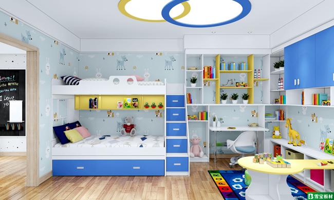 3-4岁双子儿童房