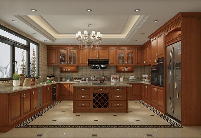 美式厨房设计图