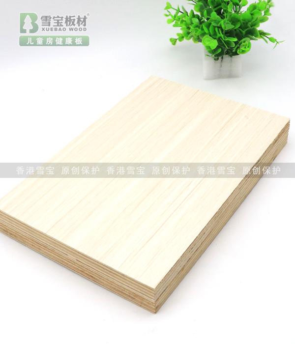 苏香桐-香杉木齿接芯E0级免漆板