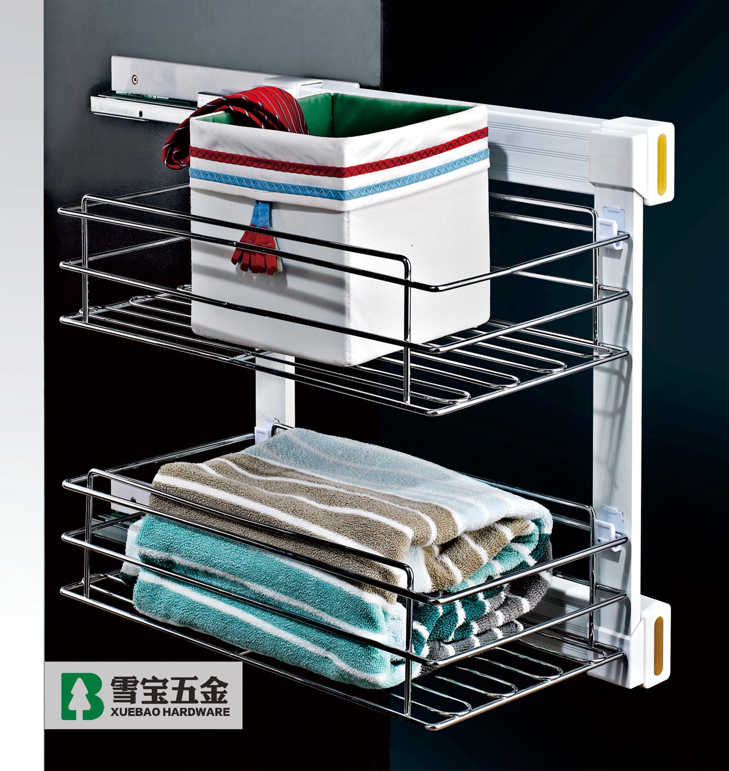 侧装两层储物篮(HK05-6)