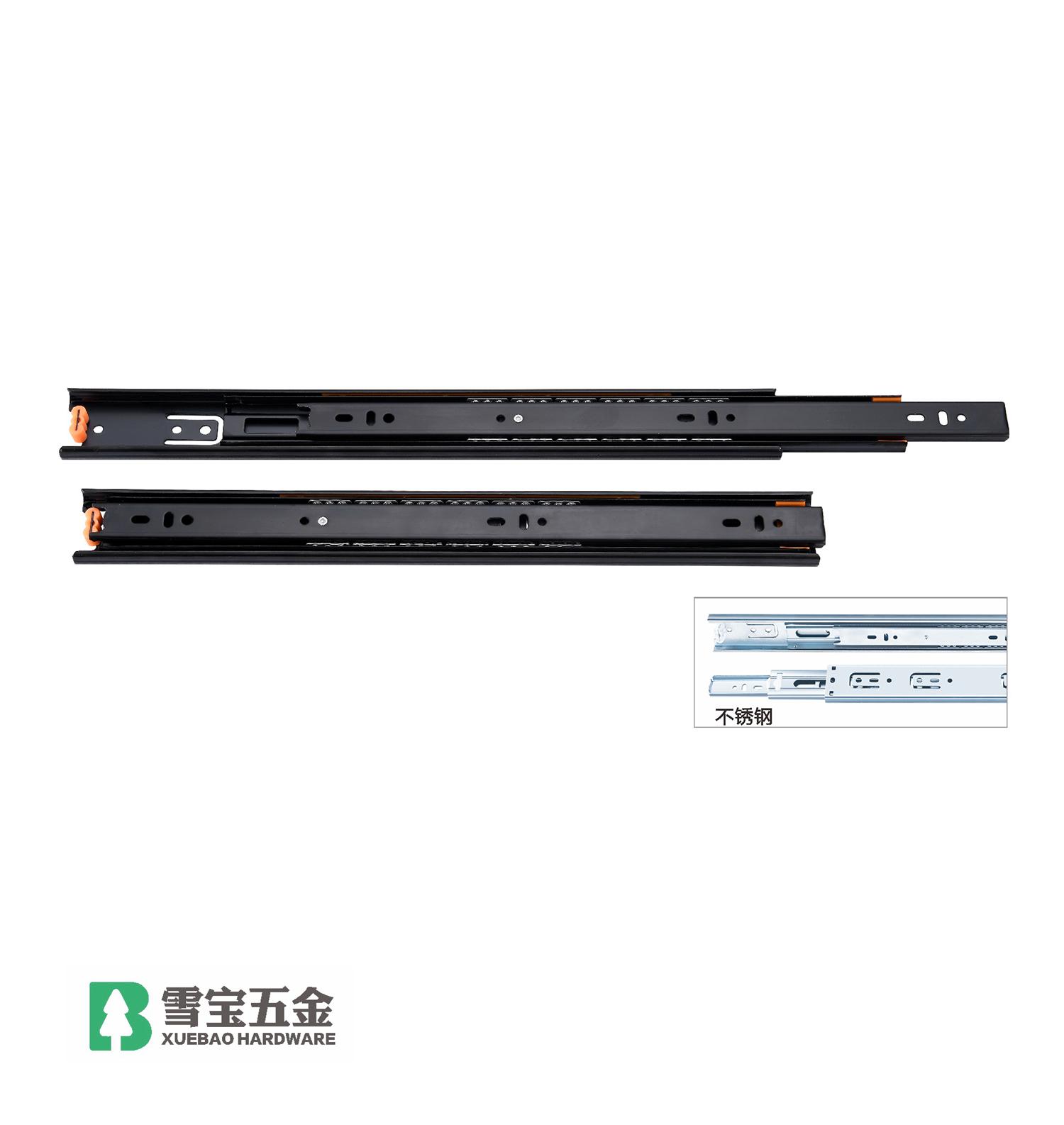不锈钢三节导轨(4512)