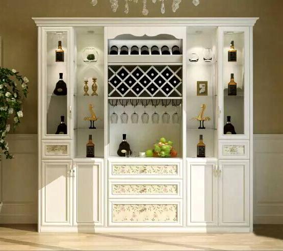 欧式成品酒柜4门欧式酒柜图片9